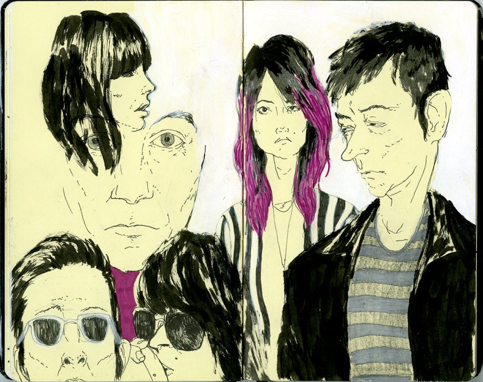 SKETCHBOOK_MUSIC_THE-_KILLS_DIEGO_CADENA_ILLUSTRATION