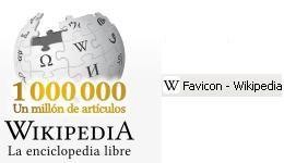 favicon y logo de wikipedia