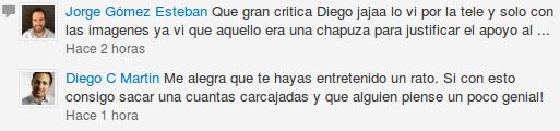 comentario LinkedIn Jorge Gómez