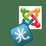 hikashop y joomla logo
