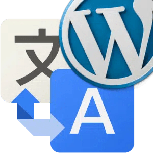 icono google traductor y wordpress