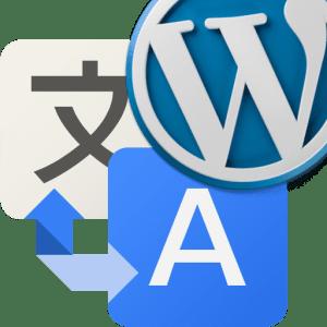 icono google traductor y wordpress