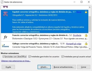 extensiones libre office calc