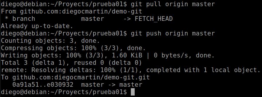38 pull y push para trabajar con otros participantes en GitHub