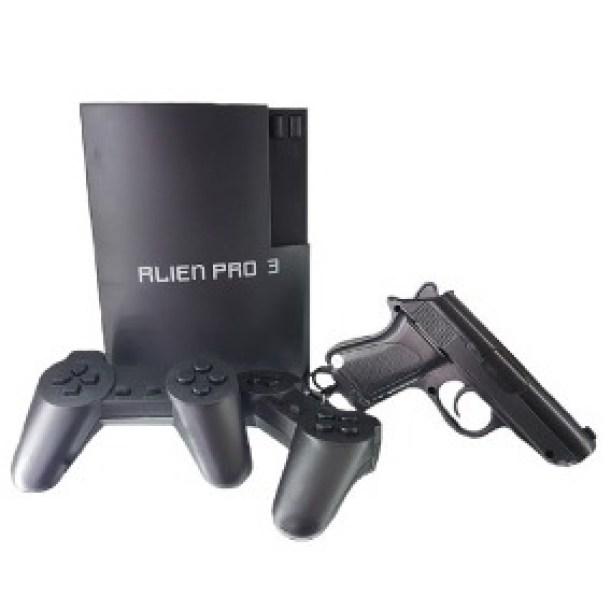 Consola De Juegos 8 Bits Tipo Family Game Alien Pro 3 Gran Cantidad