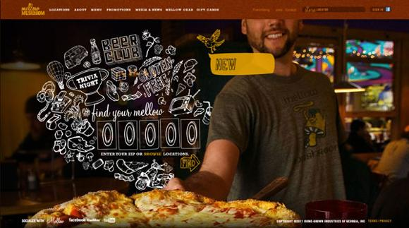 Restaurantes con un buen diseño Web