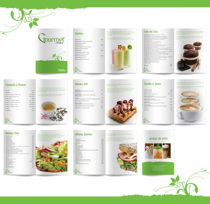 GourmetDeMaria menu