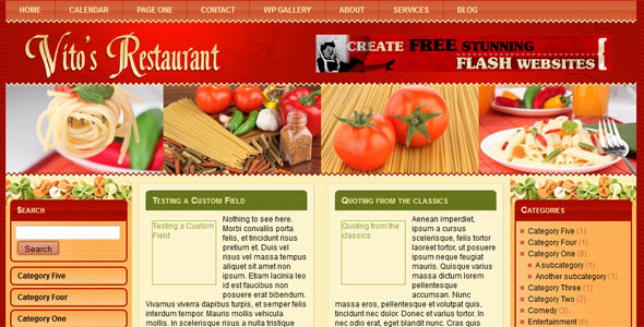 WP-Vitos WordPress Themes