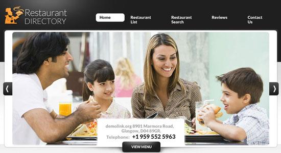 Restaurant directory