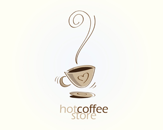hot coffee store