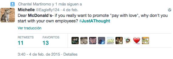 5JustAThought McDonald s   Búsqueda de Twitter