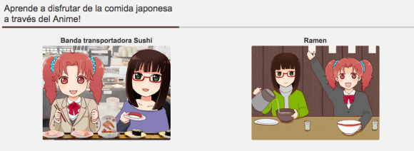 Learn to enjoy Japanese food through Anime!