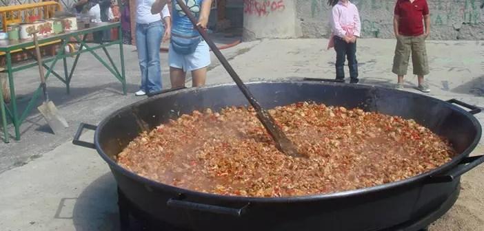 Fotos de la paella de Macotera, Salamanca