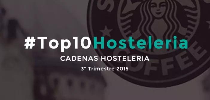 10 mejores cadenas de hostelería en redes sociales de España en 2015 [3T2015]