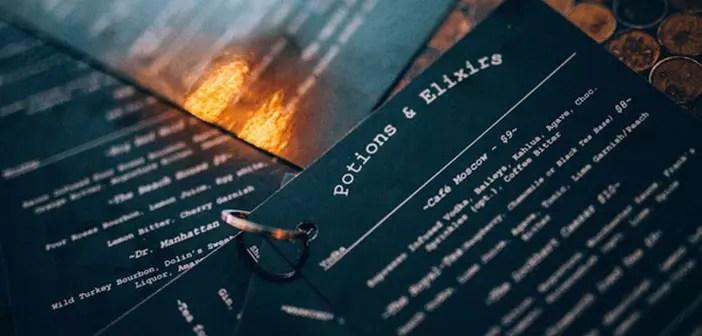 The restaurant menu Lockhart