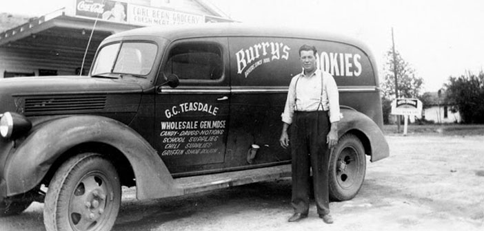 Ford Panel Van, Burry cookies, about early 40