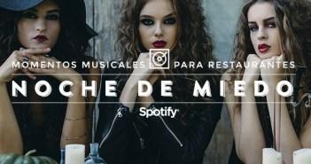 """Música para restaurantes 50 canciones para una """"Noche de Miedo"""""""