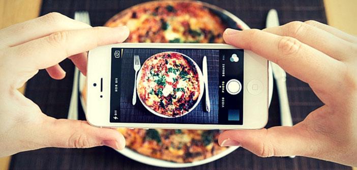 Fotografiando un plato