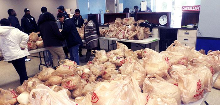 Banque alimentaire sur l'Action de grâces