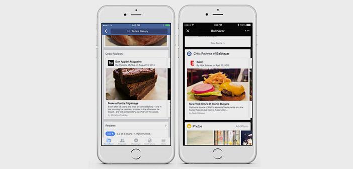 restaurants gastronomiques Facebook critiques