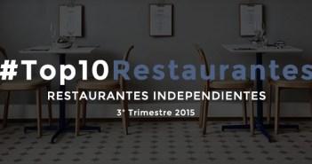 Los 10 mejores restaurantes independientes en redes sociales de España en 2015 [3T2015]