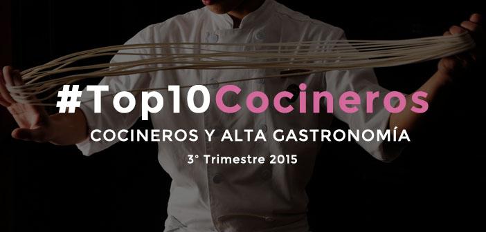 Los mejores cocineros de España en las redes sociales en 2015 [3T2015]