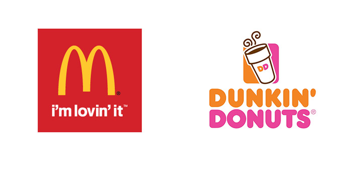 McDonalds-Dunkin Donuts