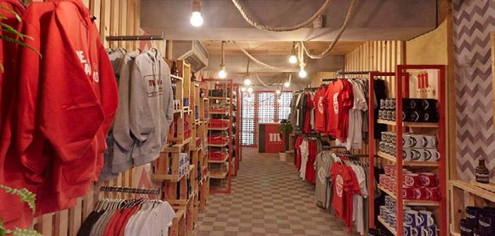 Shop around merchandising Mahou