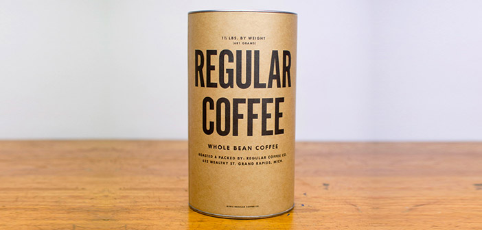 Regular Coffe gives a special service with coffee packets delivered in person