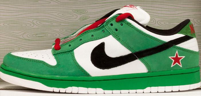 Nike shoe model for Heineken