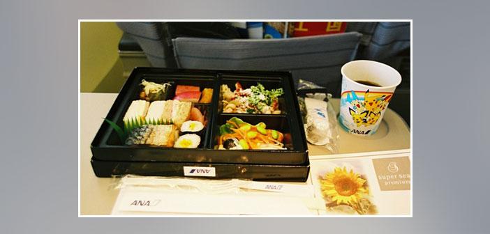 ANA-airlines --- économie-dîner haut de gamme