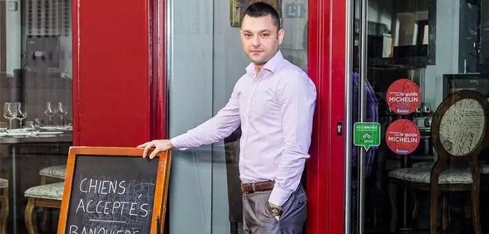 Alexandre Callet es el propietario de Les Ecuries de Richelieu