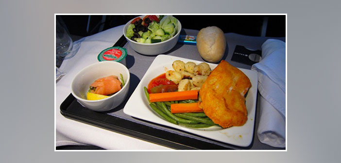 United---Dinner-in-first-class