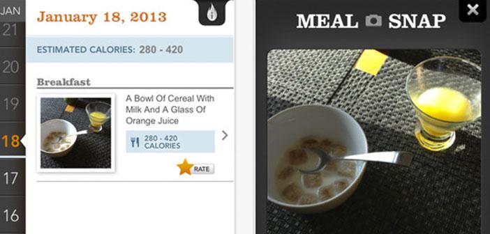Se trata de hacer una fotografía a la comida para que la aplicación calcule con la máxima exactitud posible el número de calorías de la misma.