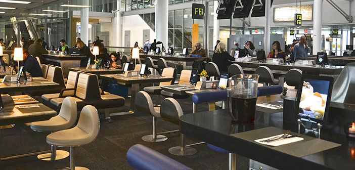Restaurants and airports