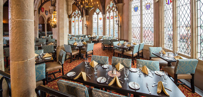 It is within the Cinderella castle and there you can taste a system based on high-American cuisine menu, making it one of the most exclusive resort.