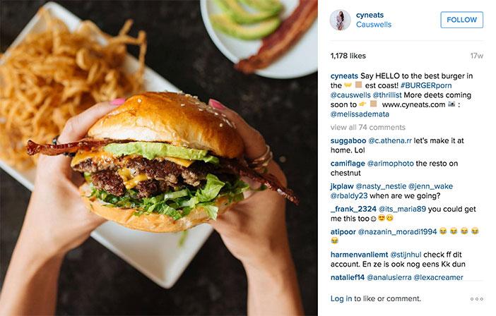Instagram est l'un des réseaux sociaux les plus pertinents pour l'industrie de la restauration. Tant du côté des hôteliers eux-mêmes qui deviennent son journal photo, comme du côté des centaines de milliers d'utilisateurs ou gastronomes qui peuplent ce canal numérique.