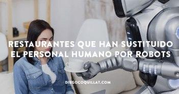 Restaurantes que han sustituido el personal humano por robots