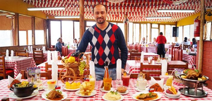 Andrés Lisboa, este Ingeniero Comercial es actualmente un empresario gastronómico de éxito en su Chile natal, donde desde 2011 regenta el restaurante Sabor a Campo.