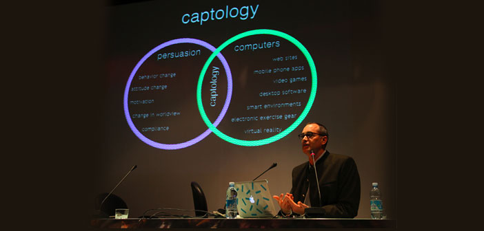"""Captology is a new discipline that """"focuses on the design, research and analysis of computer products (O, more broadly, digital) and interactive created with the purpose of changing the attitudes and behaviors of people """""""