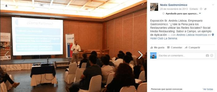 Andrés Lisbonne donner des conférences sur SMR