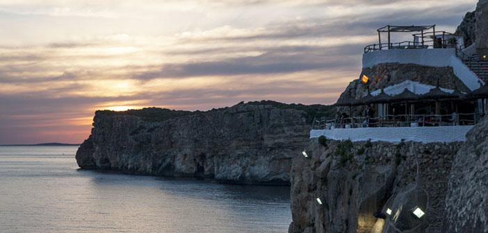 Restaurants Cova d'en Xoroi à Minorque