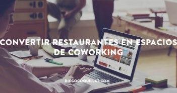 Convertir restaurantes en espacios de coworking, otro modelo de negocio que crece en Estados Unidos