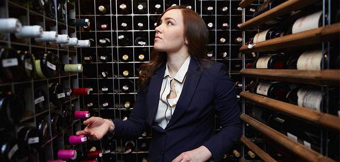 Heidi Turzyn, director of the winery restaurant Gotham Bar and Grill in New York.