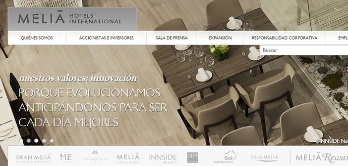 Le Meliá géant, leader mondial des complexes hôteliers, et leader sur les marchés de l'Amérique du Sud et dans les Caraïbes, avec des hôtels et centres de villégiature.
