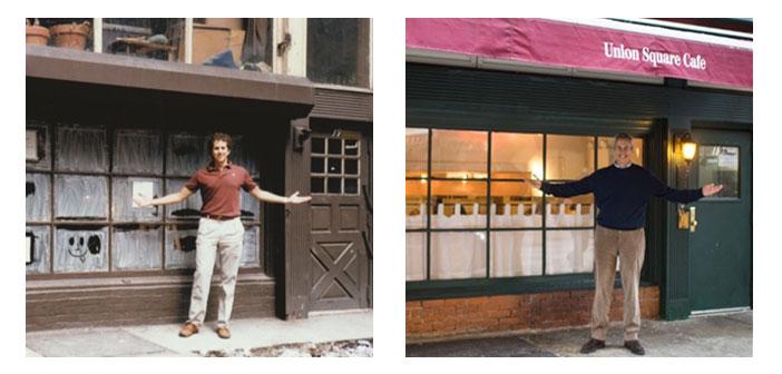 mois prochain, groupe Meyer Union Square Cafe rouvre, un phare locale 30 ans à New York, où ils vont commencer les essais pour intégrer d'Apple Watch par le personnel local.