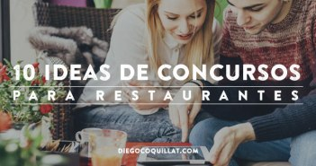 10 ideas de concursos para restaurantes en redes sociales