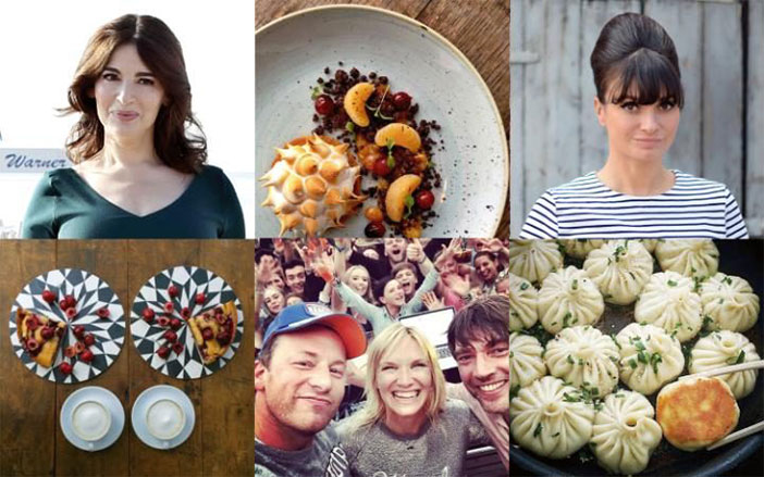 Top Foodies in England.