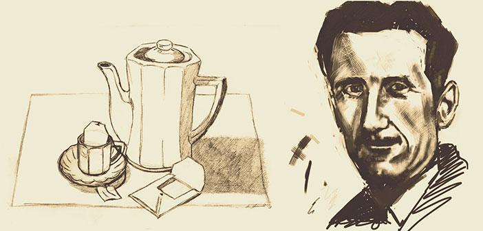 George Orwell y su ensayo 'Una buena taza de té'