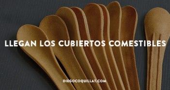 La última revolución sostenible de los restaurantes: llegan los cubiertos comestibles